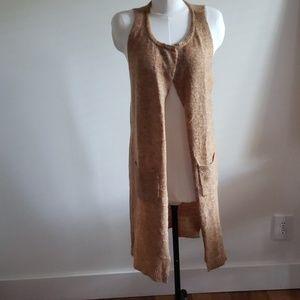 Ban Jara Tabby Wool Blend Vest/Duster Size M